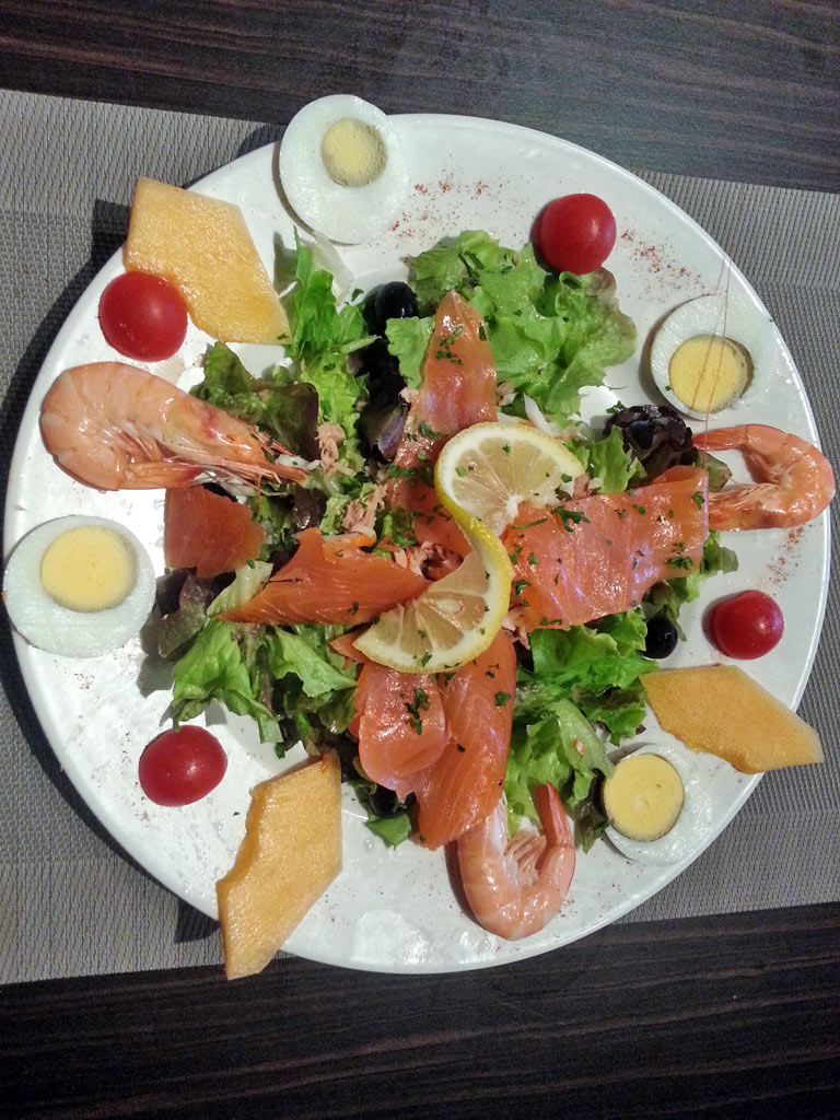 Restaurant Villefranque Menu