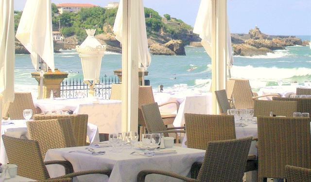 Restaurants de l 39 h tel du palais restaurants biarritz for Prix chambre hotel du palais biarritz