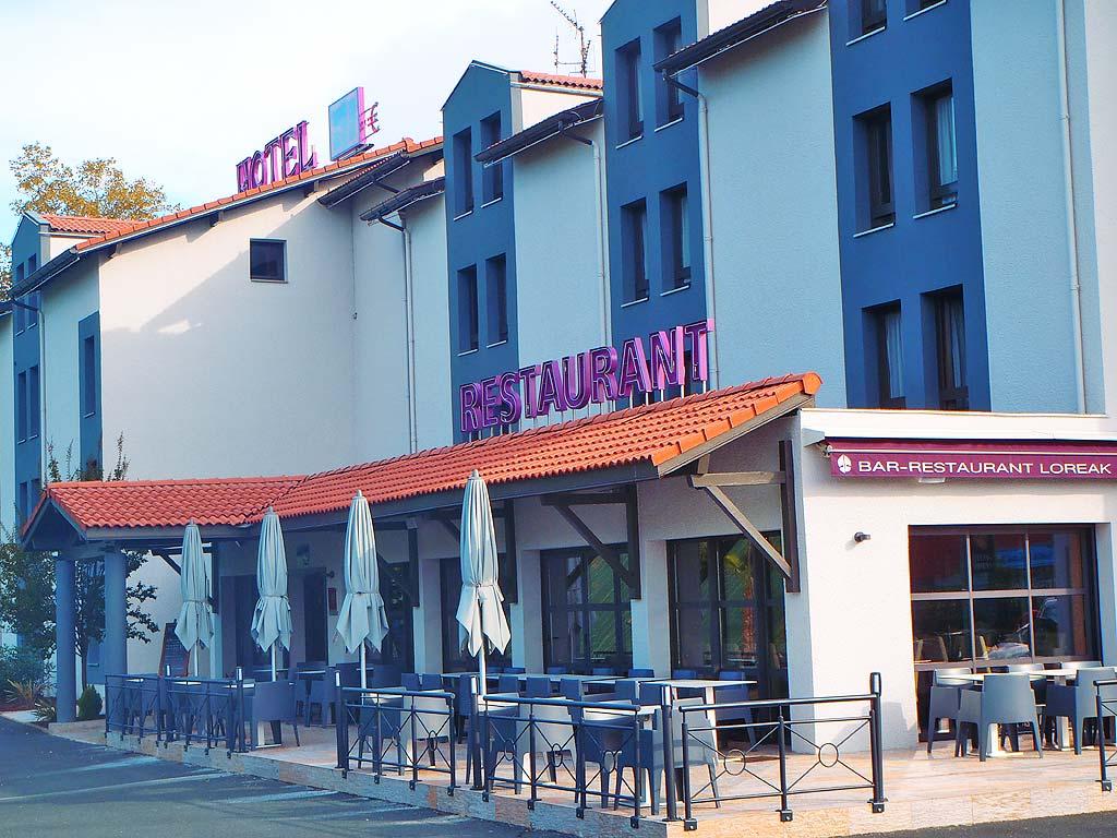 restaurant de l 39 h tel loreak restaurants bayonne. Black Bedroom Furniture Sets. Home Design Ideas