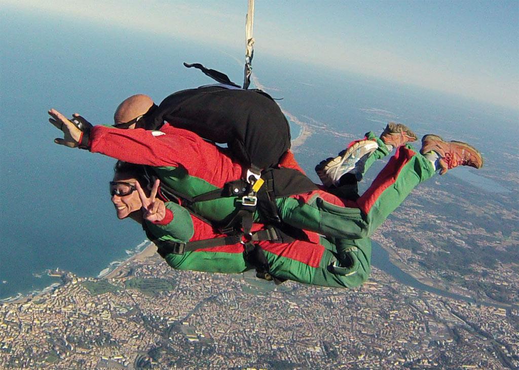 parachutisme pays basque