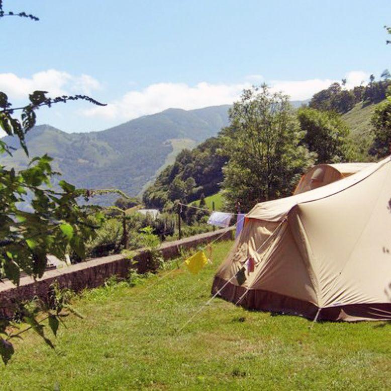 Choisissez Votre Aire Naturelle De Camping Car Au Pays Basque à Larrau
