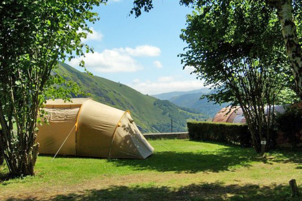 Camping Ixtila Campervan Sites And Stopovers In Larrau Guide Du Pays Basque