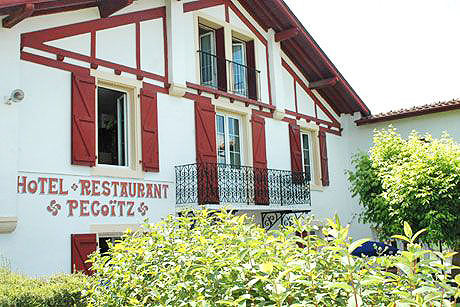 Hotel Restaurant Pecoitz Saint Jean Pied De Port
