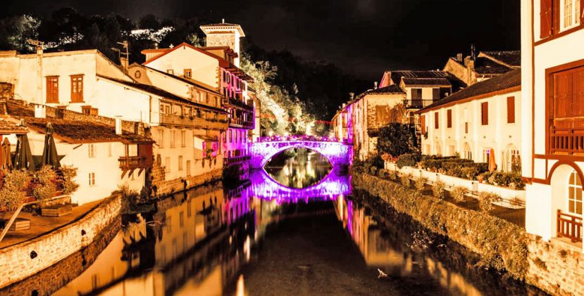 Saint-Jean-Pied-De-Port Night Tour