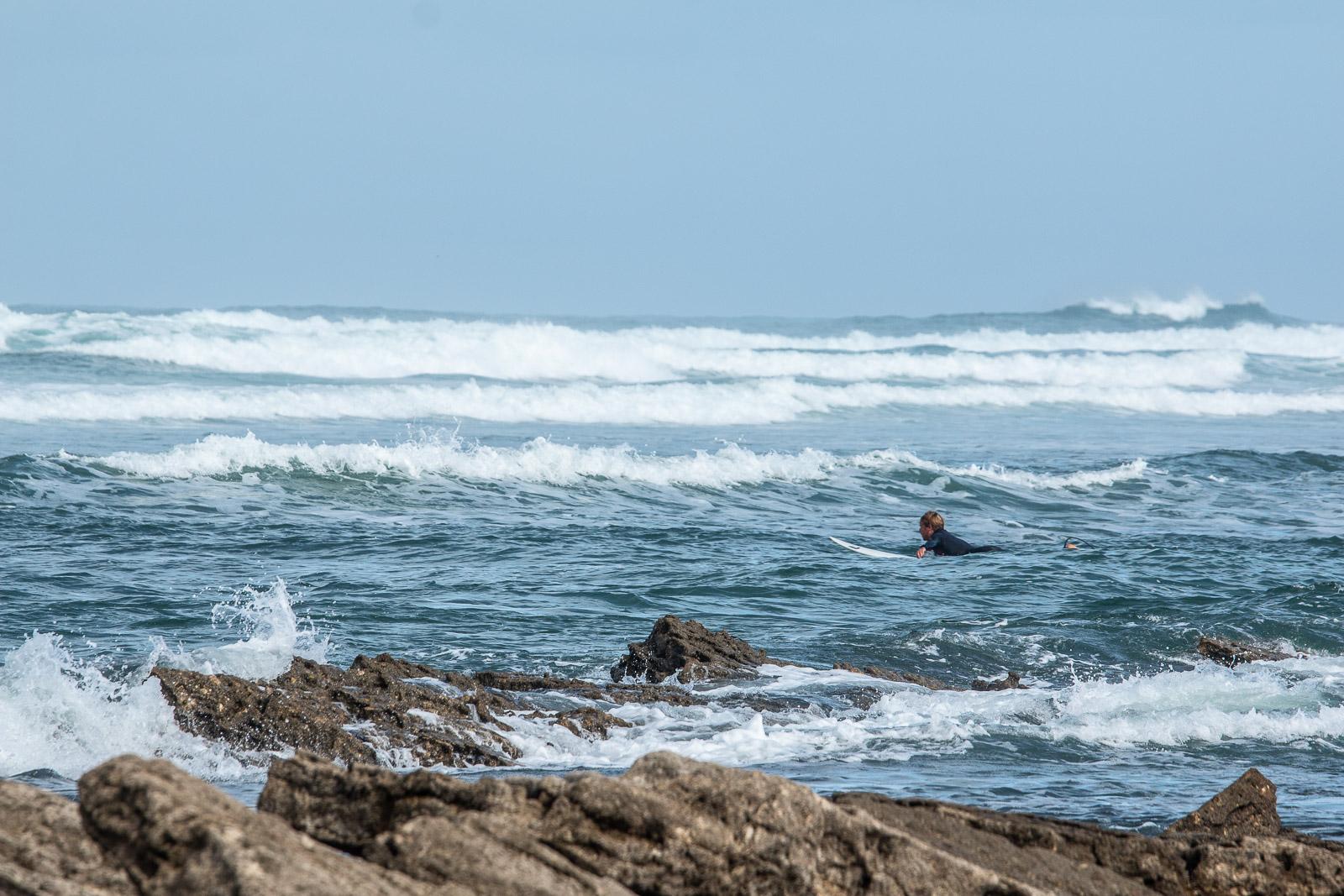 Faire du Surf à Guétary