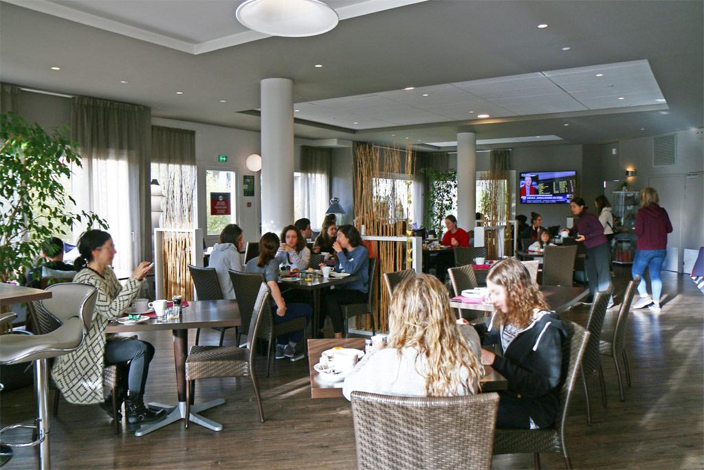 Petit déjeuner hôtel Karitza