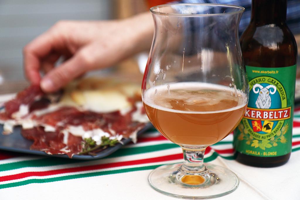 Apéro Jambon Basque Bière Basque