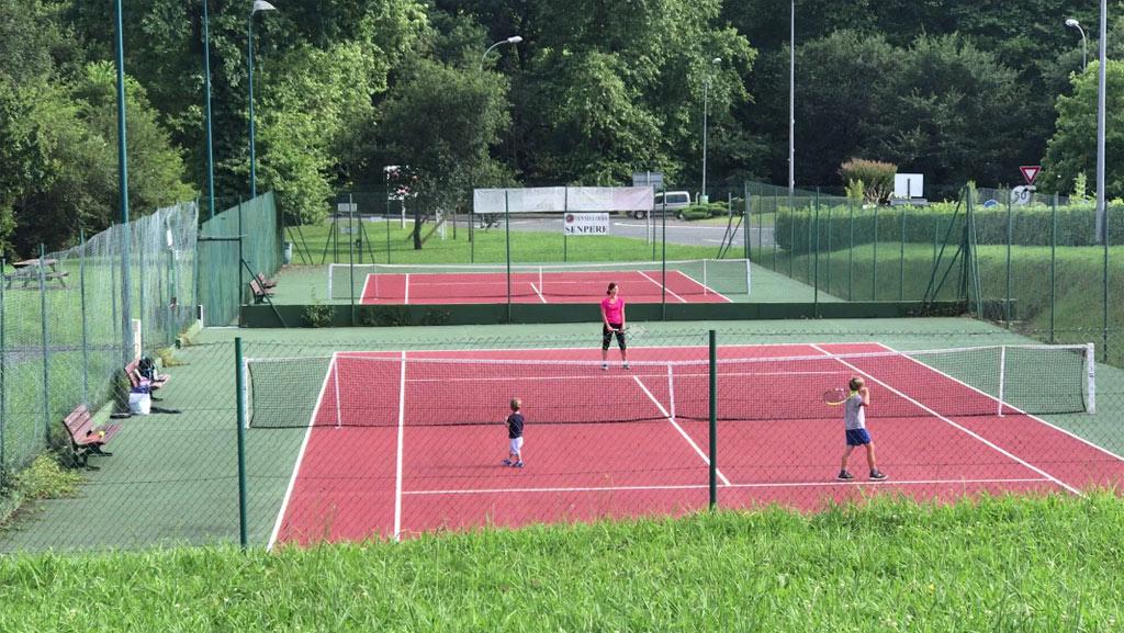 tennis au lac de saint-pée-sur-nivelle