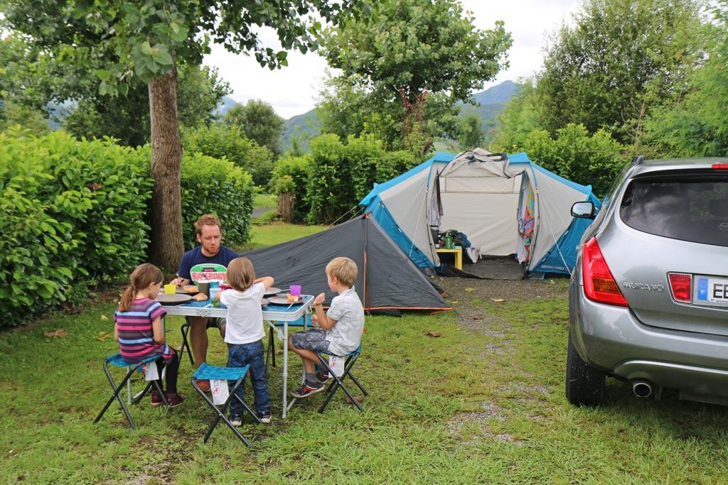 Venez avec votre matériel de camping
