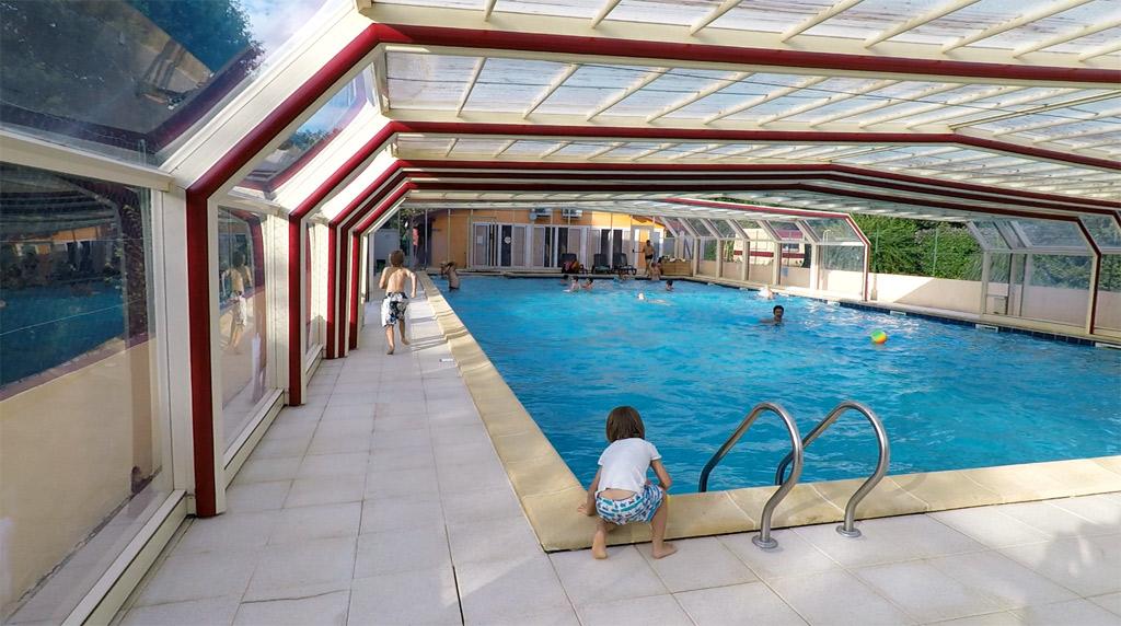 La piscine peut être couverte si besoin