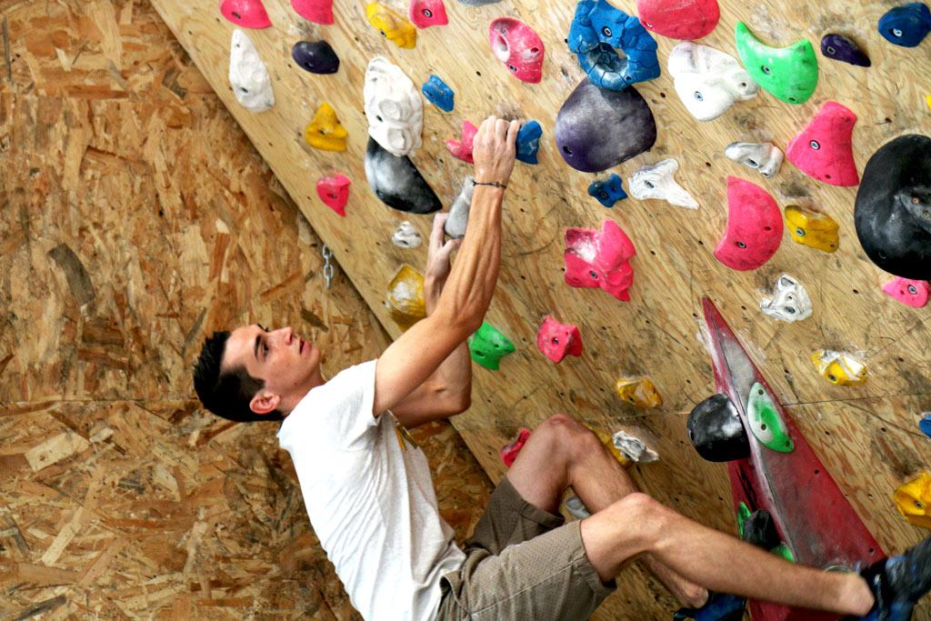 Le mur d'exercices