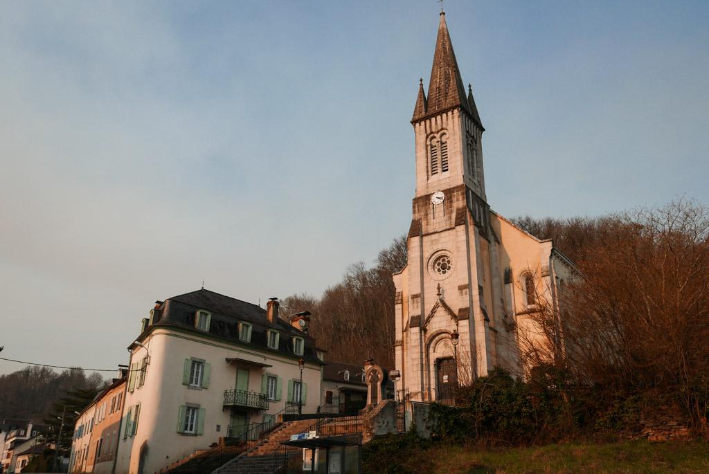 L'église de Tardets-Sorholus