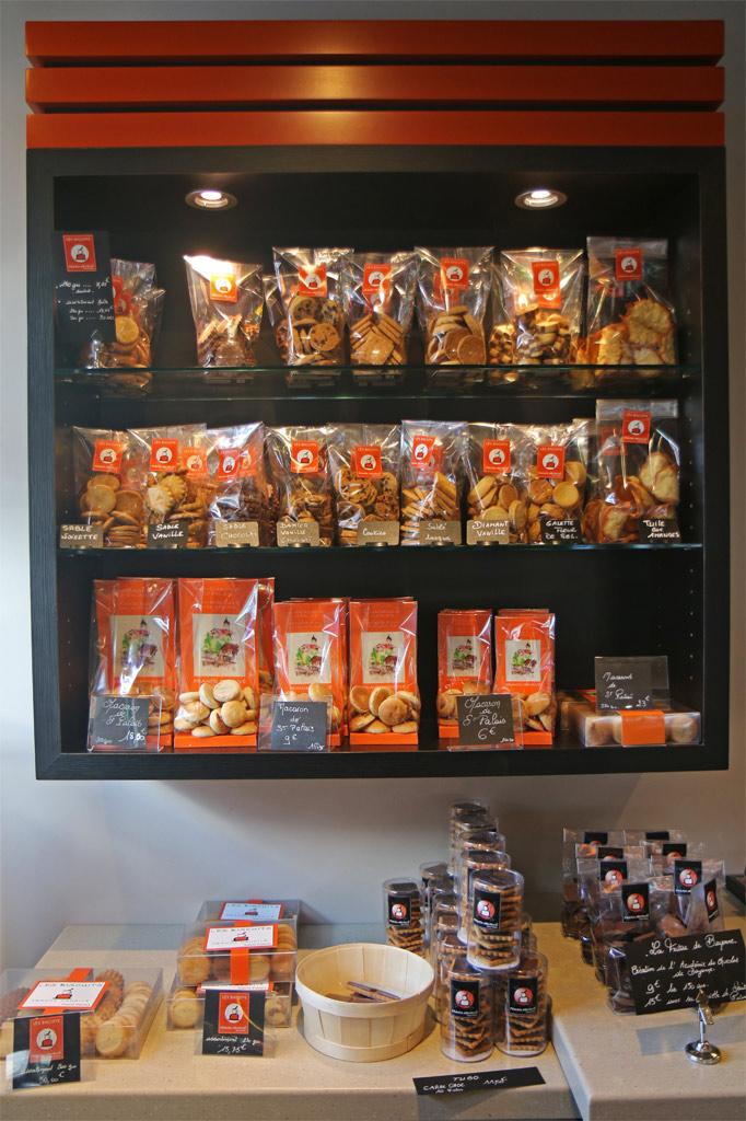 étagère de biscuits franck mendivé