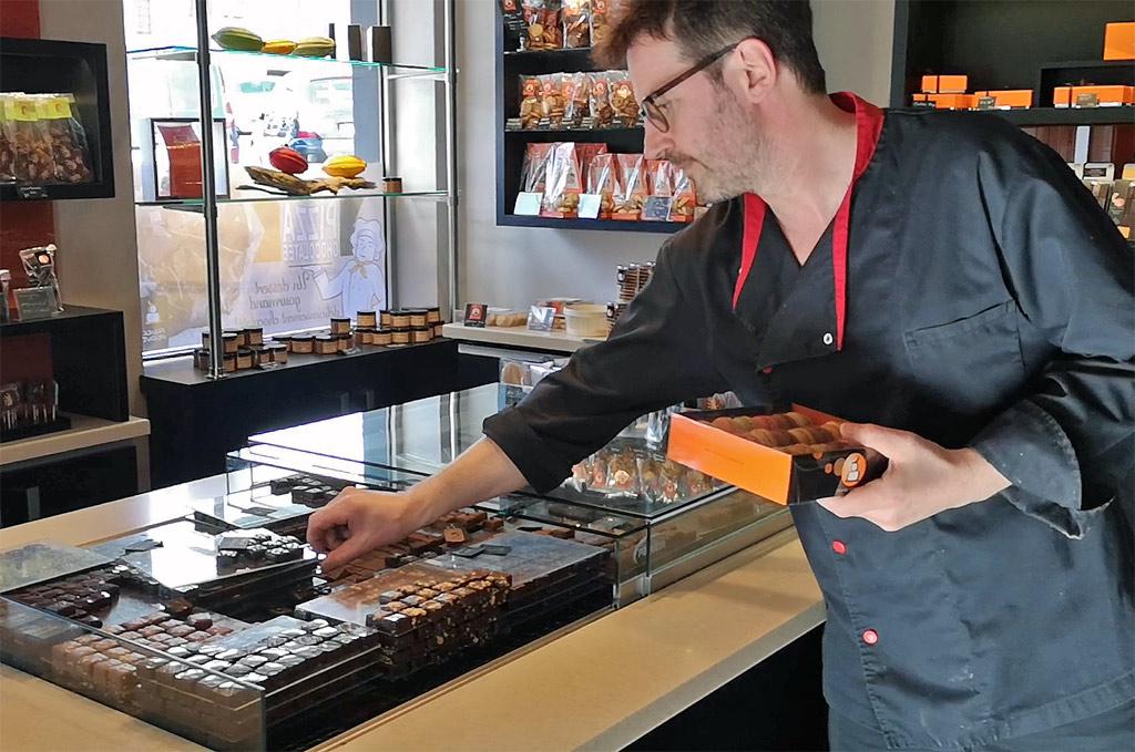 Chocolats Franck Mendivé