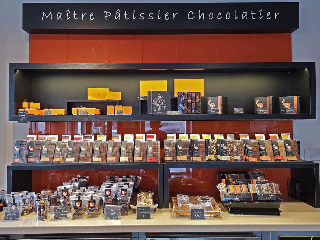 tablettes de chocolat Franck Mendivé