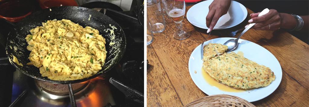 cod omelette