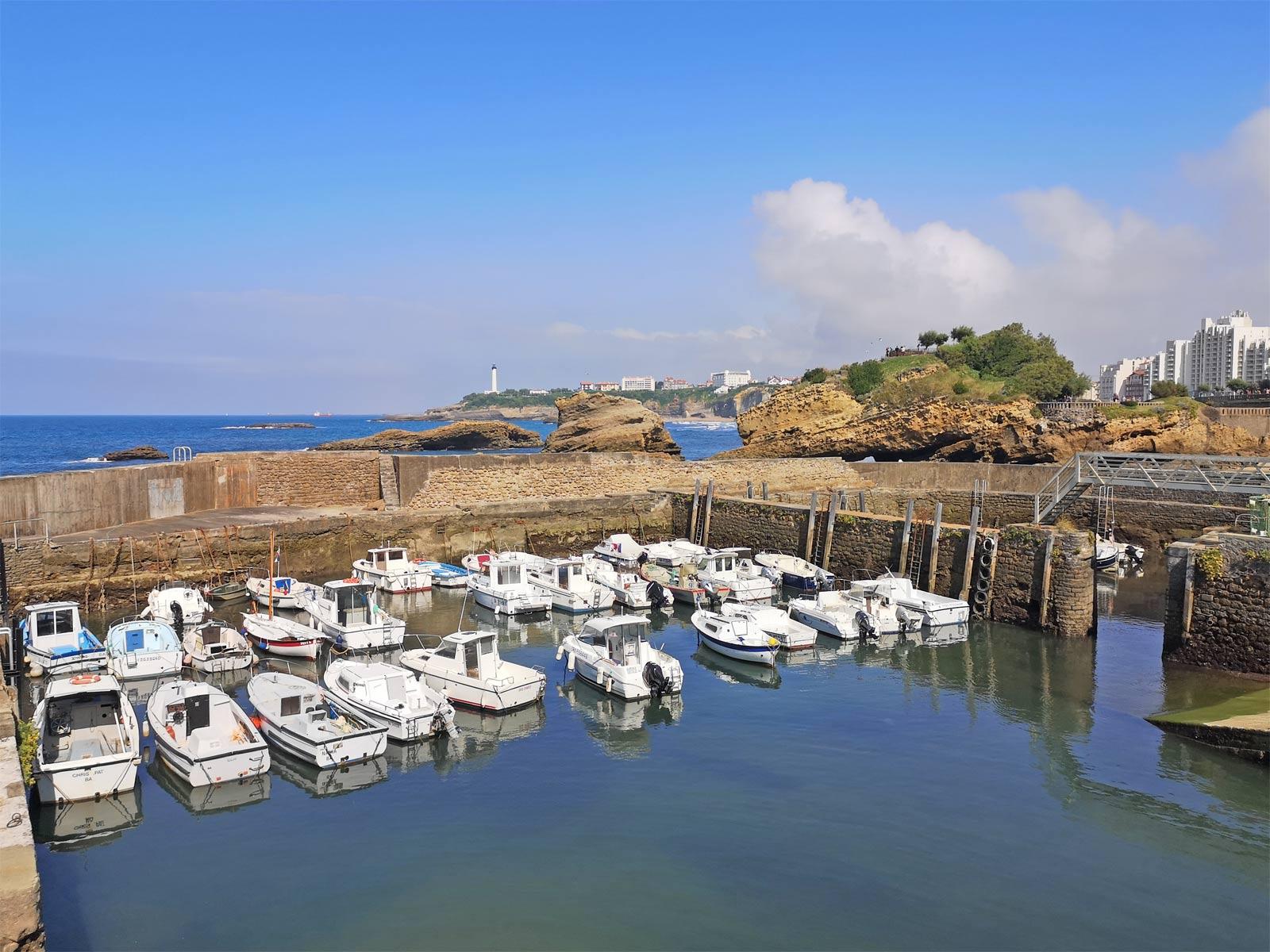 Vieux port Biarritz