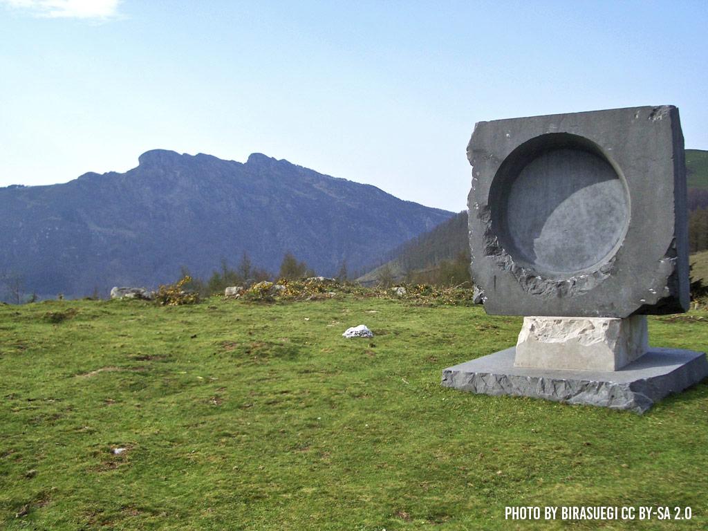 Dolmen near Lesaka