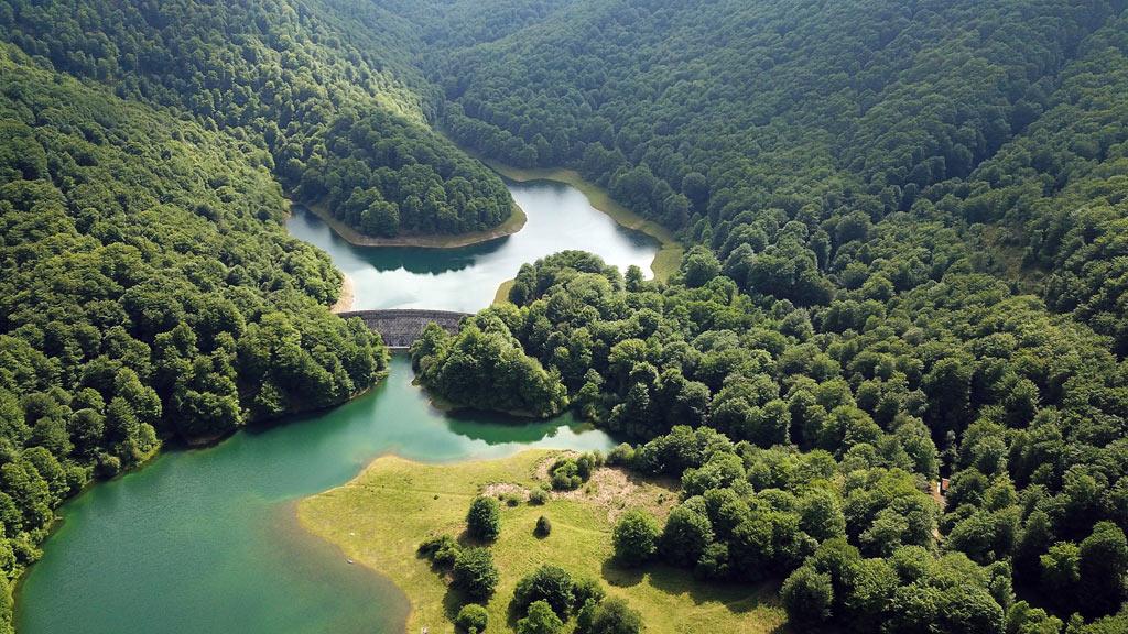 Leurtza reservoir