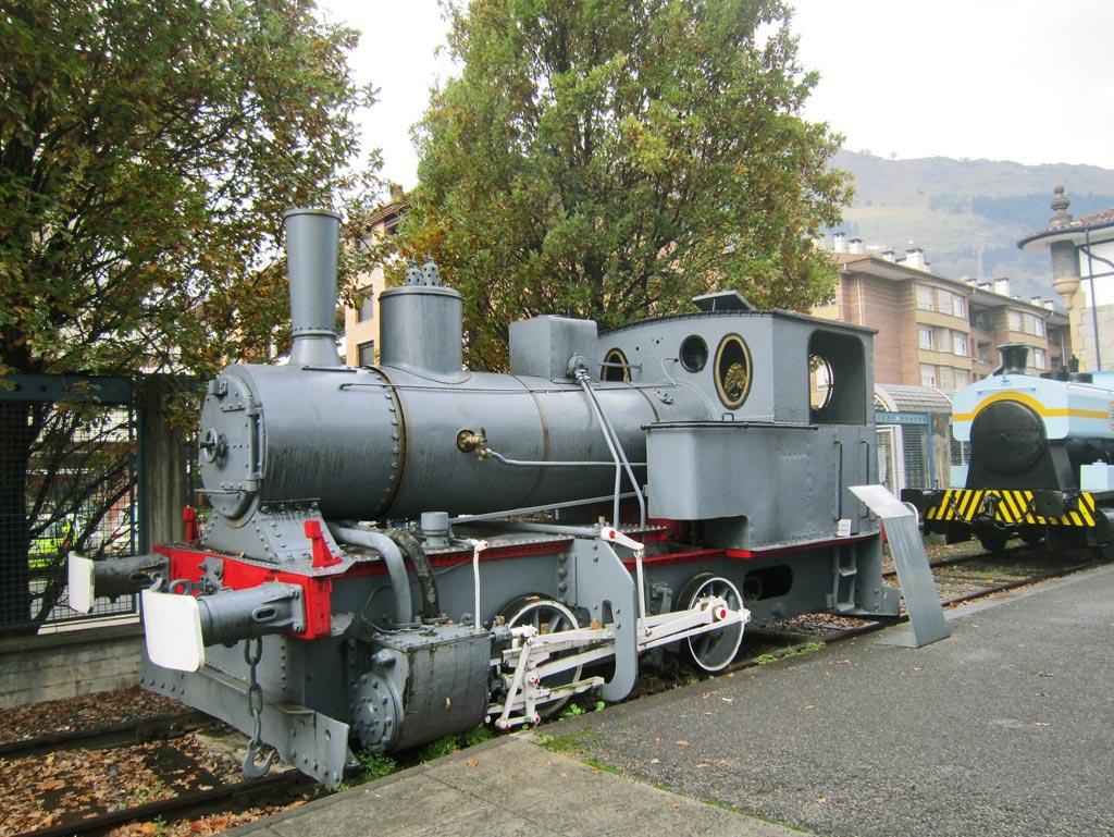 El museo del ferrocarril vasco