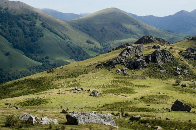 Paysage de la Soule - Pays Basque