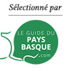 Selectionné par le Guide du Pays Basque
