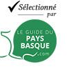 Selectionné par le Guide du Pays Basque